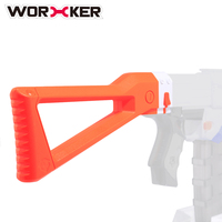 WORKER Mold ABS Shoulder Stock Tail Stock For Nerf N Strike Elite Series For Nerf Modulus