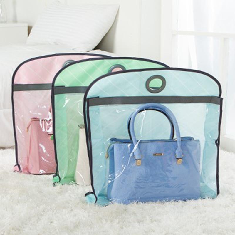 New Transparent Hanging Storage Bag Dust