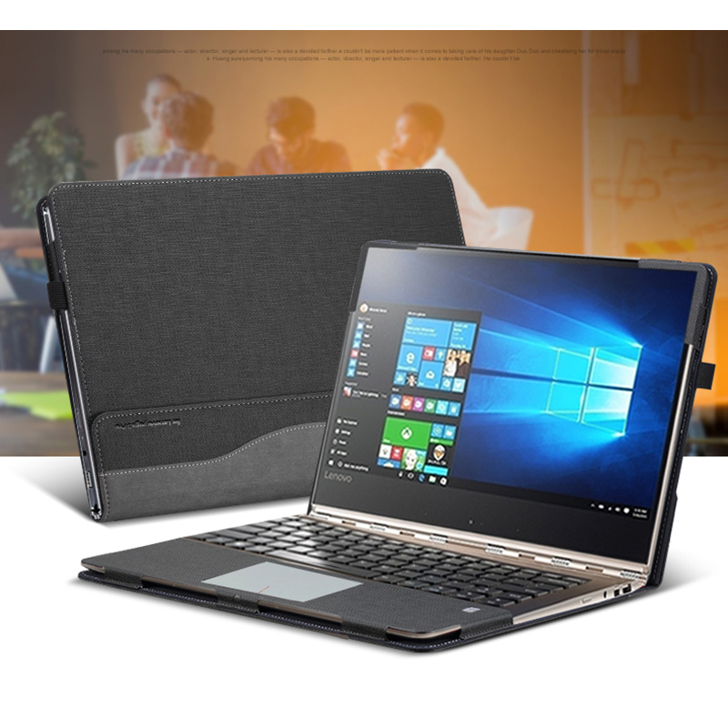 ①  Чехол для ноутбука Lenovo YOGA 920 13 9-дюймовый чехол для ноутбука YOGA 6 Pro PU Кожаный защитный ч ①