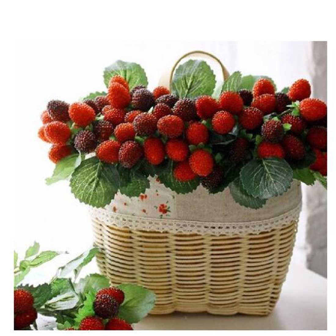 2016 new 9 fruit decoration flower artificial fruit paddle