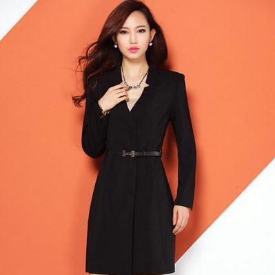 2016 Fashion european women blazer Suit Patchwork Slim Long Sleeve Spring Autumn Ladies Blazer - fave store