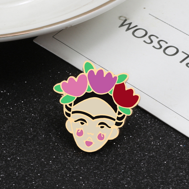 New Personality Metal Pin Brooch