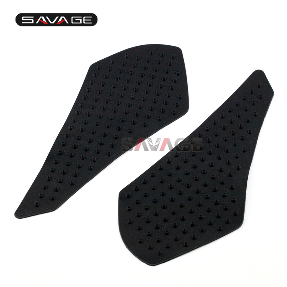 For HONDA VFR 800 Fi/VTEC 98-10, CBR500R 13-15 Tank Traction Pad Anti slip 3M sticker Side Decal Gas Knee Grip Protector for yamaha mt10 2016 2017 mt 10 mt 10 motorcycle protector anti slip tank pad sticker gas knee grip traction side 3m decal