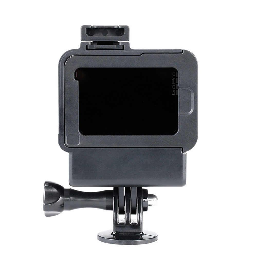 Ulanzi Vlog корпус оболочка корпуса для GoPro Hero 7 6 5 черный Vlogging защитный рамки с Продлить микрофон порты и разъёмы Холодный башмак