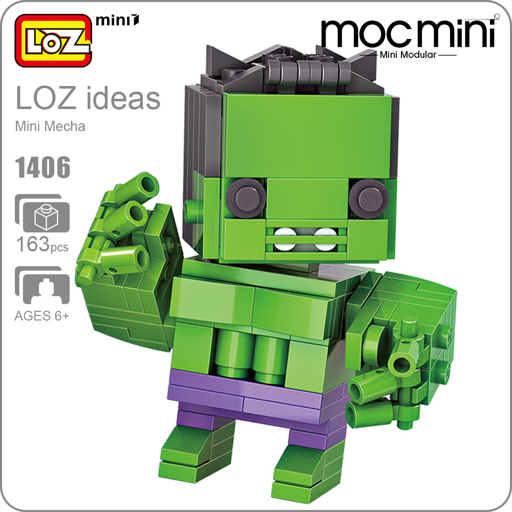 LOZ Mini Blocks Q Version Action Figure Anime Toys Cute Toys Building Assembly Kit Movie Block