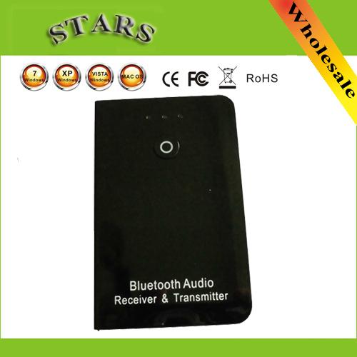 3.5 мм 2 в 1 Беспроводной Bluetooth Музыка Передатчик и Приемник V2.1 + EDR A2DP Аудио Адаптер для iPhone Телефон Tablet PC MP3 спикер