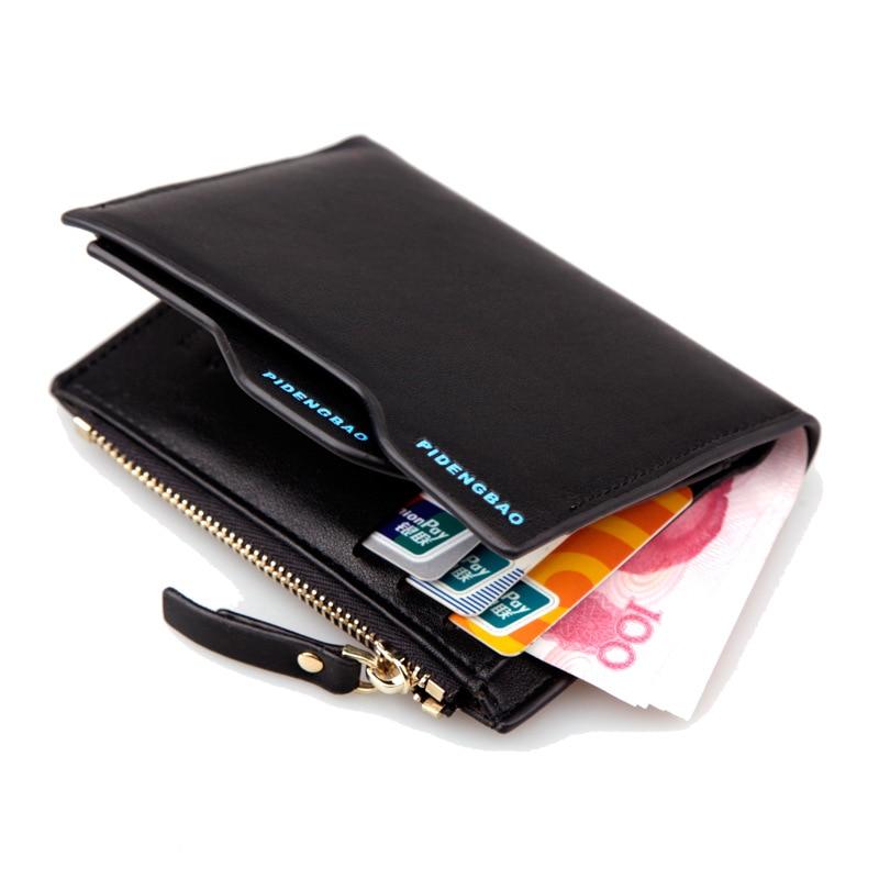Wallet Purses Men Wallets Carteira Masculine Billeteras Porte Monnaie Monedero Famous Brand Male Mens Walet 2015 New Arrive
