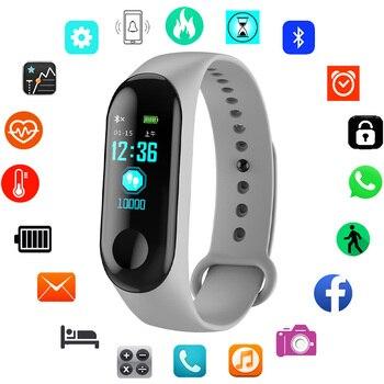 26b3fc5e1c5c Pulsera deportiva reloj inteligente niños relojes para niñas niños  estudiante electrónico LED Digital reloj de pulsera niño reloj de pulsera  hora