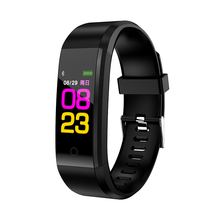 RAVI 2018 Smart Band Bracelet Watch ID115 Color Screen Pulsometer Fitness Tracker Heart Rate Blood Pressure Monitor Smartband