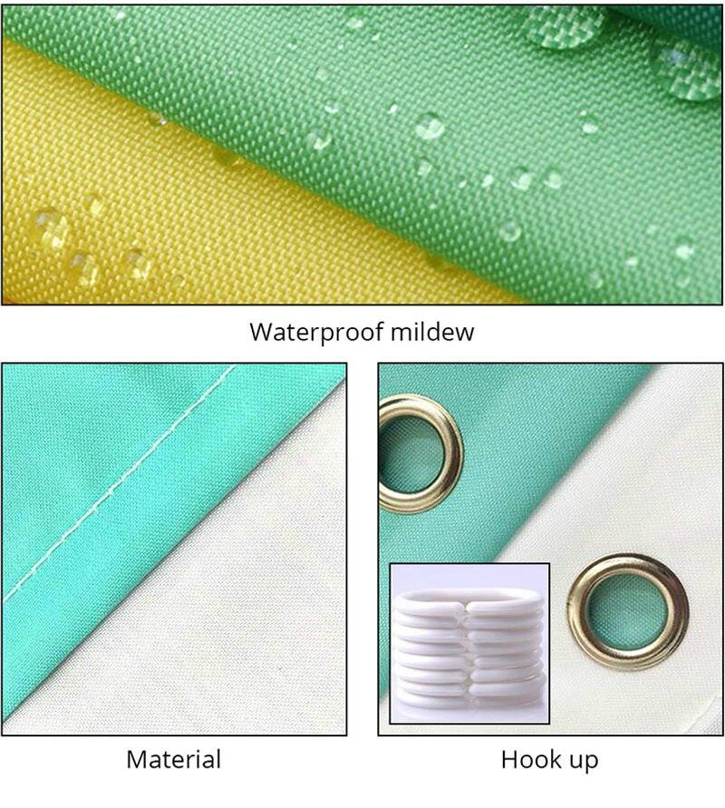 Mandala Islam Mildew Art Waterproof Bathroom Shower Curtain