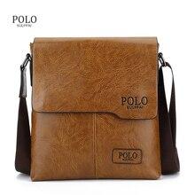 2017 Nouvelle Arrivée POLO offre spéciale en cuir messenger bag marque de mode d'affaires sac bandoulière marque POLO Sac À Bandoulière porte-documents