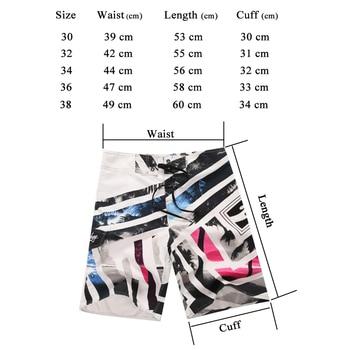 2019 HOT Sale Men's Board Shorts Brand Summer Swimwear Beach Shorts Men's Surf Shorts Quick Dry Printing Swimming Shorts  5