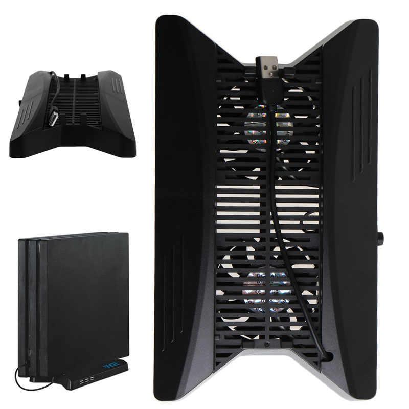 Вертикальная подставка зарядная станция с HUB2.0 охлаждающий вентилятор вентиляция для PS4 Pro