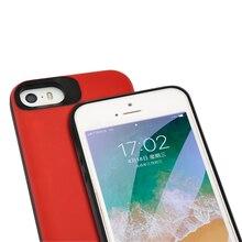 Внешнее портативное зарядное устройство на 4000 мАч, зарядное устройство чехол для iPhone 5 5S se, чехол для резервного питания