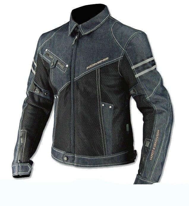 Новый jk006 джинсовые сетки автопробег езды одежда мотоцикл куртки мотоцикла джинсовой куртке