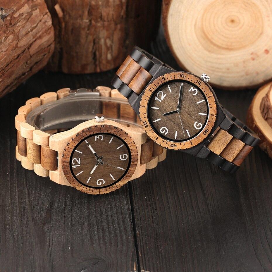 Minimalist Retro Full Wooden Watches Women Men Bamboo Wood Bracelet Fashion Creative Quartz Wristwatch Handmade Gifts Clock Hour 2018 (24)