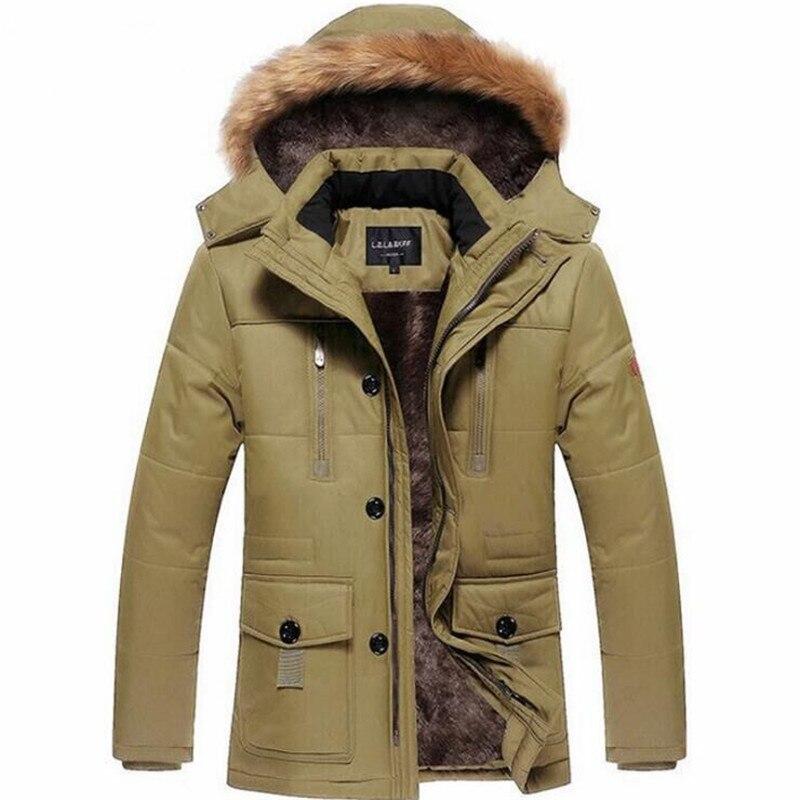 Men's ski Jackets cotton coat men's winter youth long cotton clothing plus velvet thick large size cotton Male jacket цены