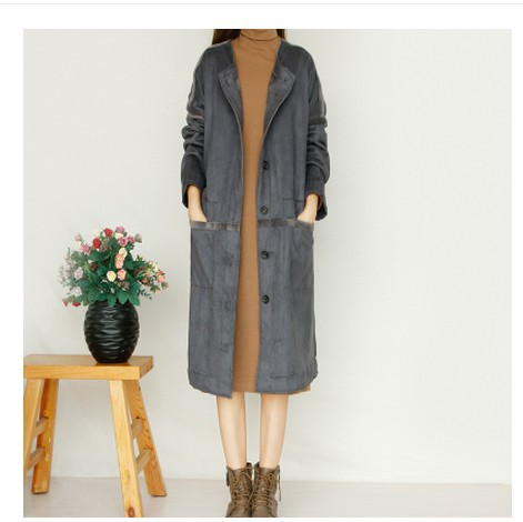 Compare Prices on Fleece Trench Coat- Online Shopping/Buy Low