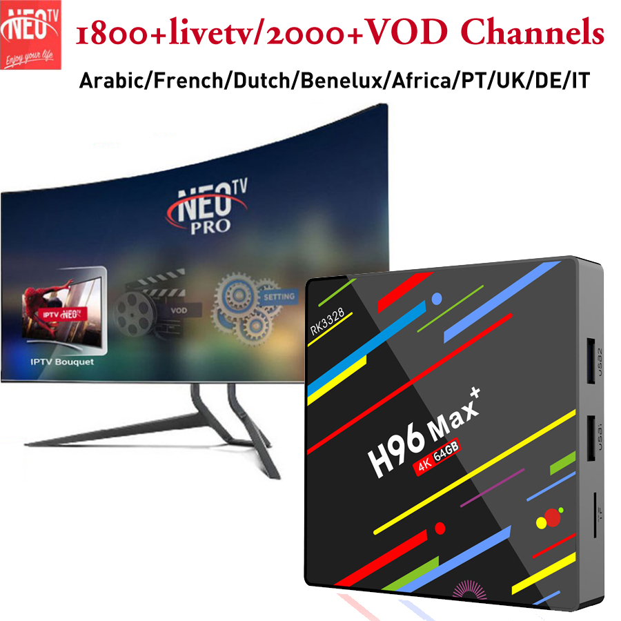 HOT SALE] French iptv box android 9 0 tv box europe arabic