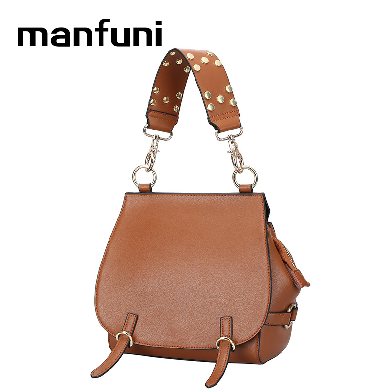 MANFUNI Fashion Personality Shoulder Bags Women Messenger Bags Handbags genuine leather Famous Brand Female Bag 0815 5pcs 1s 3 7v 2 5a li ion bms pcm battery charging protection board pcm for 18650 lithium ion li battery protect module