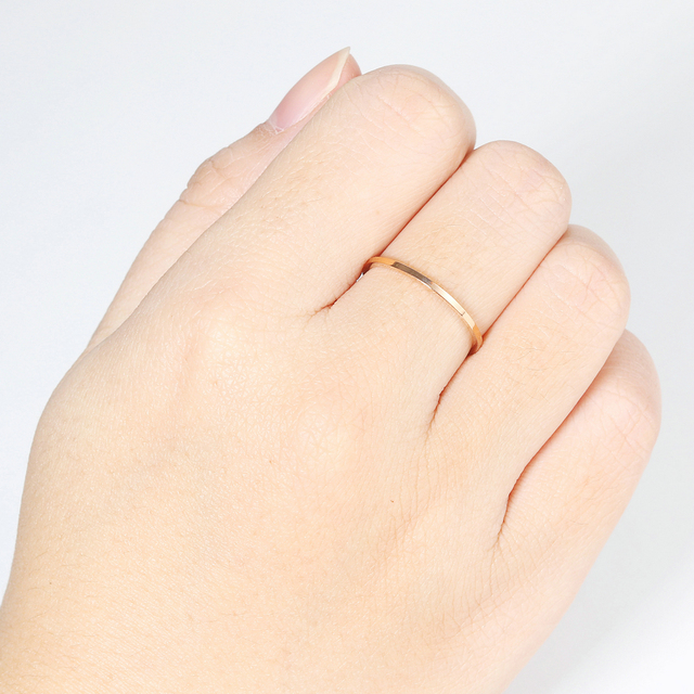 Retro Stainless Steel Rings For Women Men Titanium Ring Korean Style Dating Couple Rings Jewellry Simple Fashion Jewelry R826 4