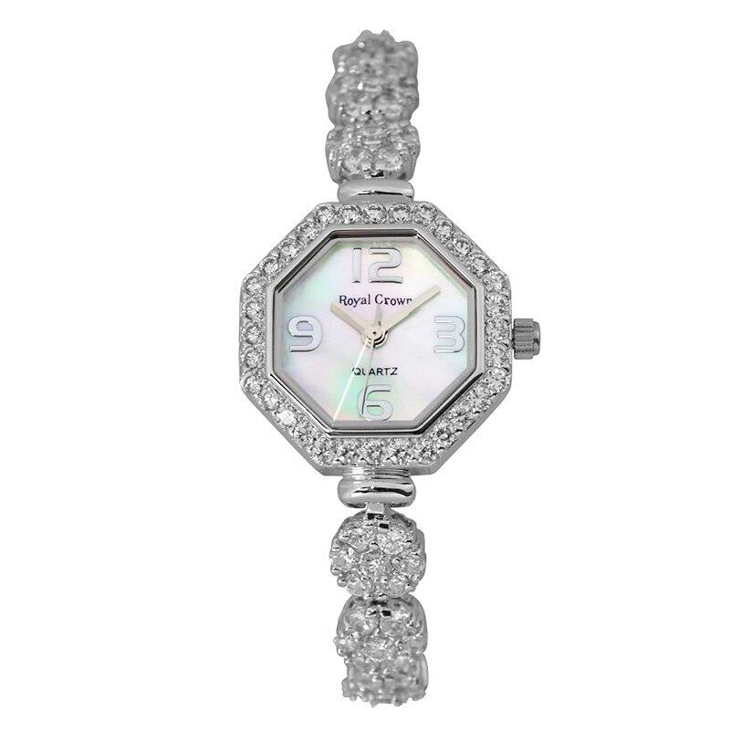 Женские часы  японские кварцевые модные часы с кристаллами  часы для мамы с жемчугом  платье  браслет со стразами  Подарочная коробка для дев...