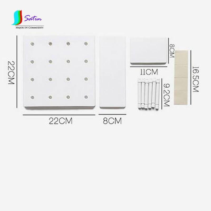 Permalink to DIY Bathroom Shelf Wall Hanging Bathroom Vanity Hook Kitchen Toilet Hole Plate Free Punching Bathroom Storage 2pcs/lot S634P