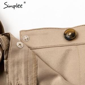 Image 5 - Simplee Sexy one shoulder irregular women camis tops Summer ruffle sashes khaki silk tanks blusas Elegant party female camisoles