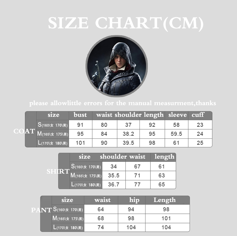 Game Cosplay Evie Frye Cosplay Costume Full Set Adult Women Halloween Carnival Cosplay Outfit Quality