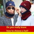 Neck warmer 2016 knit cap scarf cap Winter Hats For Men Caps Warm Moto Fur Winter Beanie Fleece Knit Hat Skullies Beanies