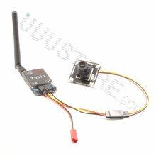 1000TVL Micro Camera w/ 2.8mm wide angle lens + TS832 5.8Ghz 48Ch 600mW FPV AV Wireless Transmitter for RC QAV250 Quadcopter