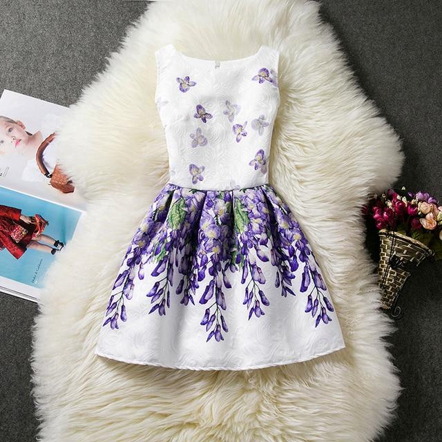 Floral Mädchen Kleider Für Partei Und Hochzeit Kinder Kleidung ...