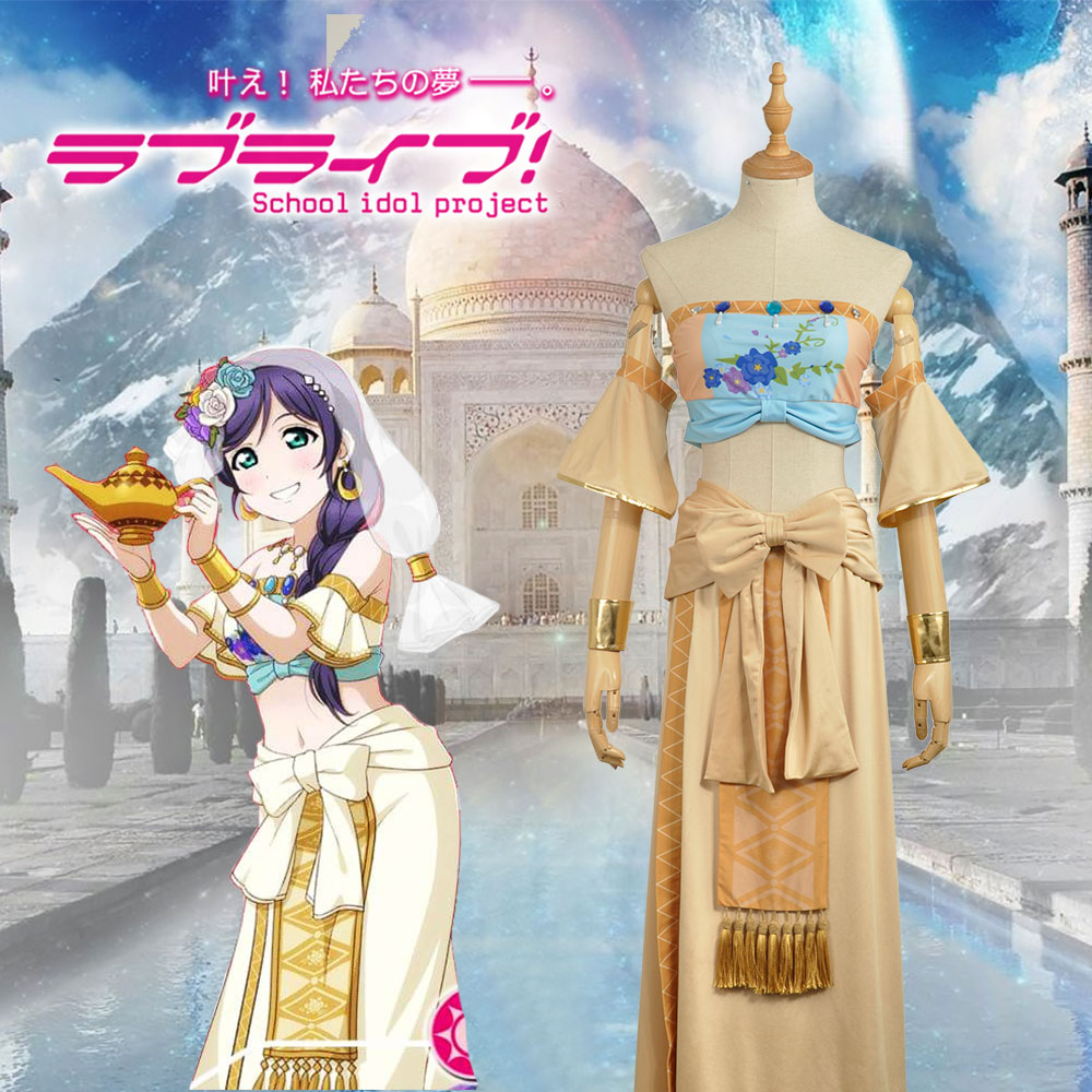 Love Live! Nozomi Tojo Dancing Diva Unawakened Uniform Cosplay Costume Adult Women Outfit Clothing Dress W0967-5