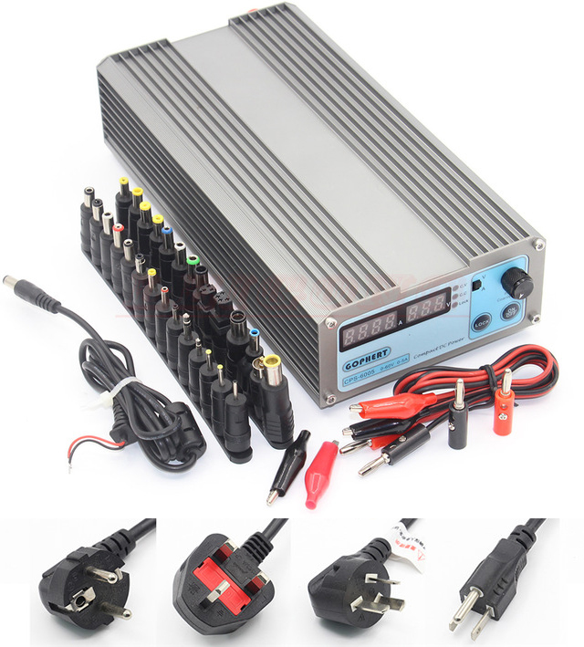 CPS-6005 110V/220V DC Power Supply adapter OVP/OCP/OTP low power 110V - 230V 0-60v 0-5AV cps 6011 60v 11a digital adjustable dc power supply laboratory power supply cps6011