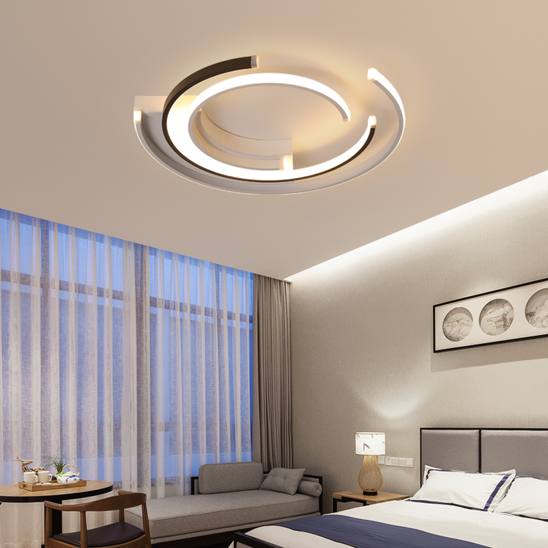 Image 4 - Modern LED Ceiling Lights Lamp for living room Bedroom AC85 265V lamparas de techo Modern LED Dimming Ceiling Lamp for bedroom-in Ceiling Lights from Lights & Lighting