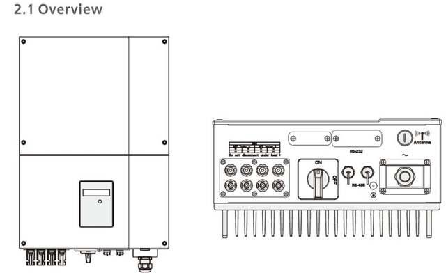 5000 W High efficiency high quality IP 65 solar on grid