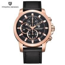 Mens Watches PAGANI DESIGN Sport Dive Quartz Watch Military Male Clock Multifunction Chronograph Men Wristwatch Reloj Hombre