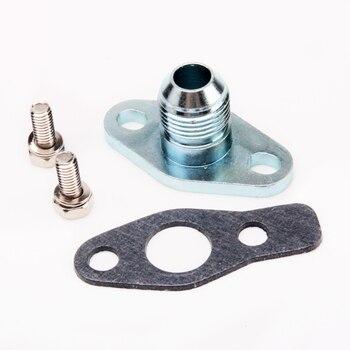 Kinugawa Kit de bride de retour d'huile Turbo 8AN Flare pour Garrett GT15 GT17 GT20 K03 K04/pour HITACHI HT12