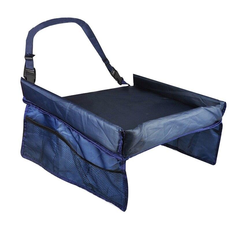 Storage Car Seat Slit Gap 30x40cm Pocket Storage Glove Box Organizer Slot Box For Child Water Drink Snack Car Seat Tray Storage