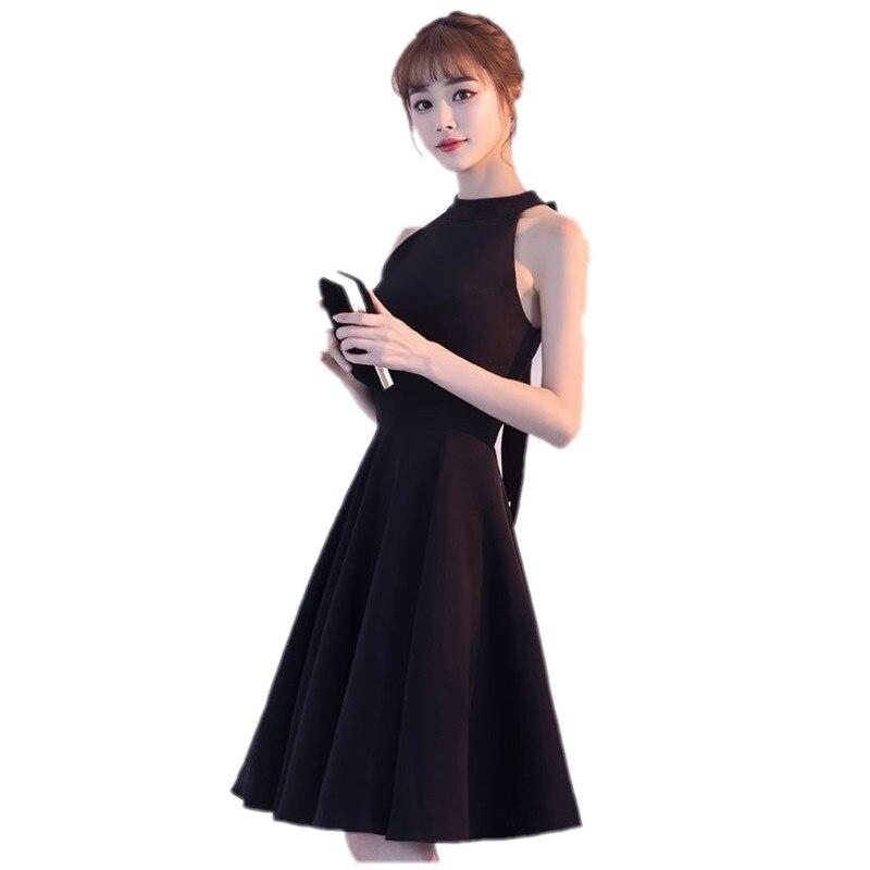 a73d0a6226383 Güzellik-Emily Siyah Kısa balo kıyafetleri 2017 A-Line Balo Elbise Örgün  Mezuniyet Elbiseleri
