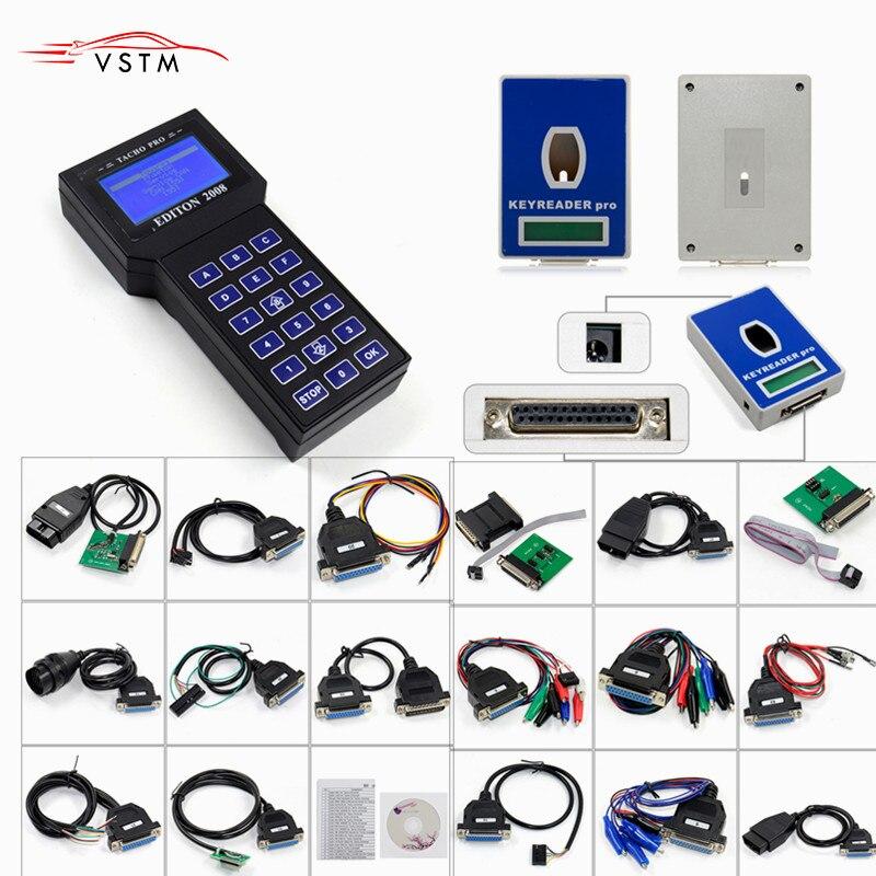 New Tacho Pro 2008 Unlock tacho pro Odometer Correction/mileage change tool 2008 Tacho Pro Full Set Covers Many Cars