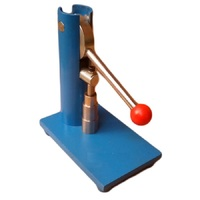 Small manual powder pressing machine for tablet press