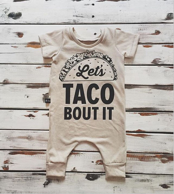 Let's Taco Bout It Shortsleaved Jumpsuit 3