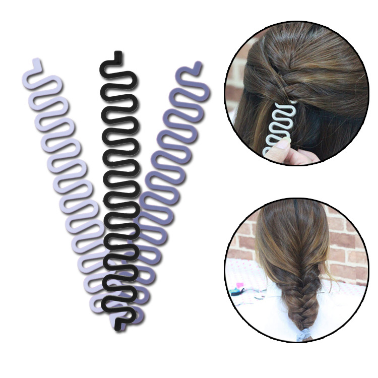 Women Lady Hair Braiding Accessories Braider Roller Hook With Magic Hair Twist Styling Bun Maker Hair Band 2019 New Fashion Style Online Mother & Kids