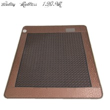 Jade Отопление Подушка камень инфракрасное электрическое Отопление Здоровья массажный матрас спальные подушки продажа Бесплатная доставка 1.2×1.9 м