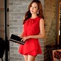 dabuwawa shorts skirts women 2016 summer korean fashion casual slim waisted shorts female navy blue red pink doll