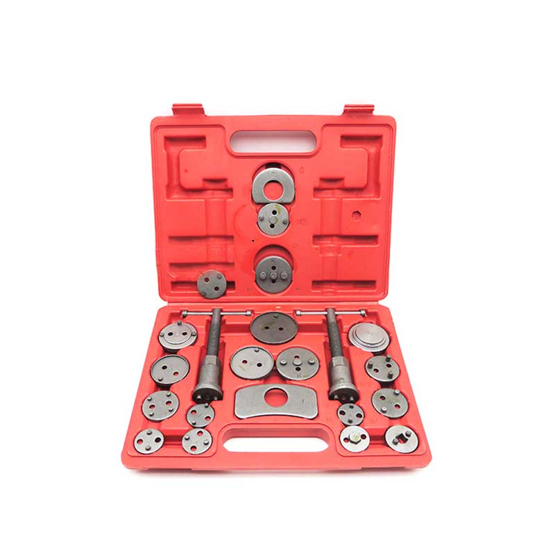 22pcs Heavy Duty Disc Brake Piston Caliper Compressor Tool Set and Wind Back Kit for Brake Pad Replacement high quality extension cord shaft flexible shaft rotary grinder tool with m8 keyless chuck for power tool accessories