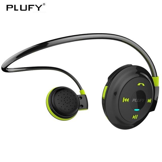 PLUFY Bluetooth Sport Casque Sans Fil Casque Écouteurs Fonctionnant Ecouteur Sans Fil Bluetooth Casque écouteur