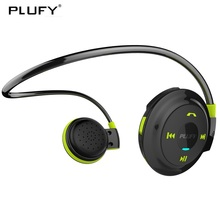 PLUFY Sports Bluetooth Headset Wireless Running Headphones