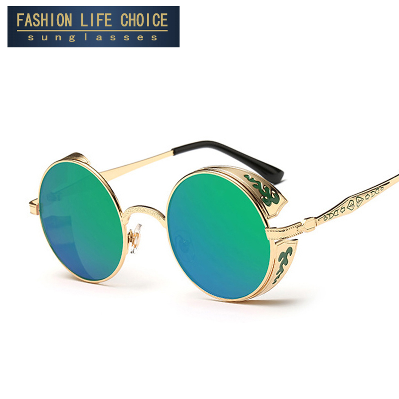 Goggle Type Sunglasses  online whole retro style sunglasses for men from china